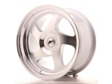 JR-Wheels JR15 Wheels Silver Machined 16 Inch 8J ET25 Blank-56154-28
