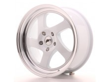 JR-Wheels JR15 Wheels White 17 Inch 8J ET35 Blank-56156-5