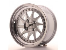 JR-Wheels JR26 Wheels Silver Machined 15 Inch 8J ET15 4x100-61290