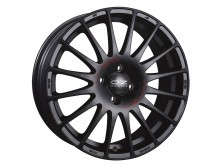 OZ-Racing Superturismo GT Wheels Flat Black 16 Inch 7J ET37 4x100-71733