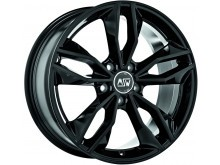 MSW MSW 71 Wheels Gloss Black 17 Inch 7,5J ET35 5x100-70122