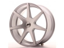 JR-Wheels JR20 Wheels Silver Machined 19 Inch 8.5J ET20-40 Blank-60077