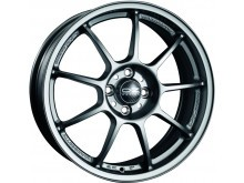OZ-Racing Alleggerita HLT Wheels Flat Graphite 17 Inch 7,5J ET48 5x114,3-73470