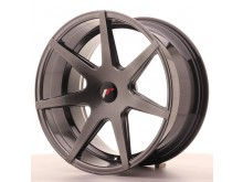 JR-Wheels JR20 Wheels Hyper Black 19 Inch 9.5J ET35-40 Blank-58001