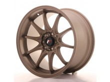 JR-Wheels JR5 Wheels Dark Anodize Bronze 17 Inch 9.5J ET25 5x100/114.3-55821-4