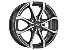 MSW MSW X4 Wheels Gloss Black Machined 14 Inch 5,5J ET24 4x108-70662