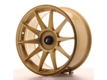 JR-Wheels JR11 Wheels Gold 18 Inch 8,5J ET35-40 Blank-62865