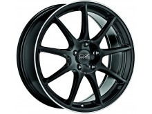 OZ-Racing Veloce GT Wheels Gloss Black Machined 17 Inch 7,5J ET35 5x100-70428