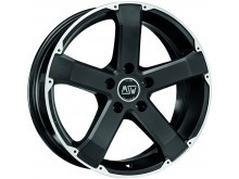 MSW MSW 45 Wheels Flat Black Machined 17 Inch 8J ET42 5x115-72627