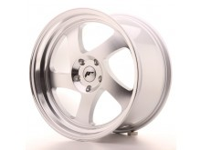 JR-Wheels JR15 Wheels Silver Machined 18 Inch 9.5J ET40 Blank-56154-32