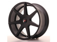 JR-Wheels JR20 Wheels Flat Black 18 Inch 8.5J ET25-40 Blank-58299