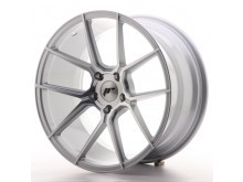 JR-Wheels JR30 Wheels Silver Machined 19 Inch 9.5J ET35 5x120-63273