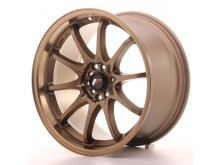 JR-Wheels JR5 Wheels Dark Anodize Bronze 18 Inch 9.5J ET22 5x100/114.3-55821-6