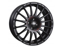 OZ-Racing Superturismo GT Wheels Flat Black 17 Inch 7,5J ET50 5x112-71824