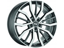 MSW MSW 49 Wheels Gloss Gun Metal Machined 19 Inch 9J ET50 5x120-71053