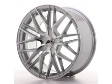 JR-Wheels JR28 Wheels Machined Silver 18 Inch 7.5J ET20-40 Blank-67220