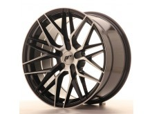 JR-Wheels JR28 Wheels Gloss Black Machined 19 Inch 8.5J ET35-40 5H Blank-64323