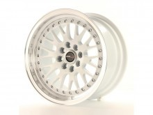 JR-Wheels JR10 Wheels White - Polished 15 Inch 8J ET15 4x100,4x114.3-55693-10