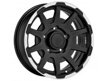 Sparco Dakar Wheels Flat Black Machined 16 Inch 5,5J ET5 5x139,7-72621
