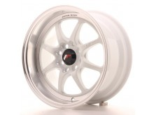 JR-Wheels TFII Wheels White 15 Inch 7.5J ET30 4x100/114.3-47163-2