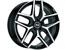 MSW MSW 40 Wheels Gloss Black Machined 19 Inch 9J ET48 5x120-70634