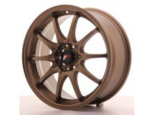 JR-Wheels JR5 Wheels Dark Anodize Bronze 17 Inch 7.5J ET35 4x100/114.3-58400
