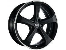 MSW MSW 47 Wheels Flat Dark Titanium Machined 17 Inch 7,5J ET35 5x100-73423