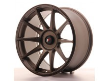 JR-Wheels JR11 Wheels Dark Flat Bronze 18 Inch 9.5J ET20-30 Blank-57876