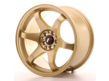 JR-Wheels JR3 Wheels Gold 17 Inch 9J ET35 5x100/114.3-55687-4