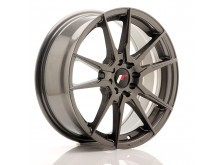 JR-Wheels JR21 17x7 ET25 4x100/108 Hyper Gray-76278