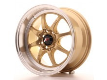 JR-Wheels TFII Wheels Gold 15 Inch 7,5J ET30 4x100/114,3-47164-2