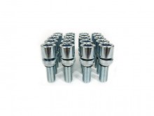 SK-Import Star Wobble Bolts M12x1.5 Steel Silver 28mm-60509