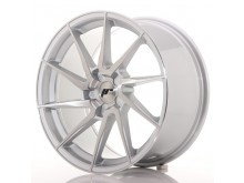 JR-Wheels JR36 Wheels Silver Brushed 18 Inch 9J ET20-48 5H Blank-67344