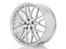 JR-Wheels JR28 17x7 ET35 5x100 Silver Machined-76369