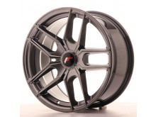 JR-Wheels JR25 Wheels Hyper Black 18 Inch 8.5J ET20-40 5H Blank-61231