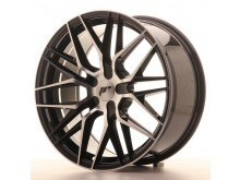 JR-Wheels JR28 Wheels Gloss Black Machined 18 Inch 7.5J ET20-40 Blank-67218