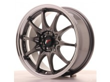 JR-Wheels JR5 Wheels Gun Metal 16 Inch 7J ET30 4x100/108-58453