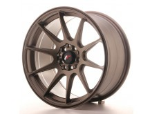JR-Wheels JR11 Wheels Flat Bronze 17 Inch 9J ET35 5x100/114.3-55811-11