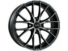 OZ-Racing Italia 150 Wheels Flat Dark Graphite Machined 17 Inch 7J ET42 4x100-73167