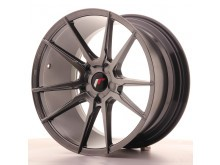 JR-Wheels JR21 Wheels Hyper Black 18 Inch 9.5J ET40 5H Blank-58048