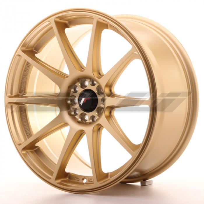 JR-Wheels JR11 Wheels Gold 18 Inch 8.5J ET35 5x100/108-55808-5