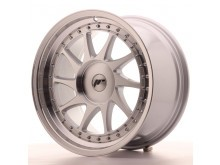 JR-Wheels JR26 Wheels Silver Machined 18 Inch 9.5J ET20-40 Blank-61347
