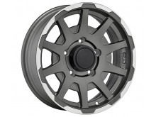 Sparco Dakar Wheels Flat Dark Graphite Machined 16 Inch 5,5J ET0 5x139,7-73251