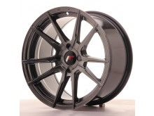 JR-Wheels JR21 Wheels Hyper Black 17 Inch 9J ET25-35 4H Blank-58634
