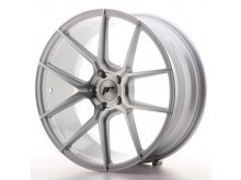 JR-Wheels JR30 Wheels Silver Machined 19 Inch 8.5J ET35 5x120-63259