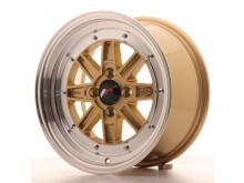 JR-Wheels JR31 Wheels Gold 15 Inch 7,5J ET20 4x100-63309