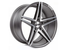 Z-Performance Wheels ZP4.1 19 Inch 8 J ET40 5x120 Flat Gunmetal/Polish-75771