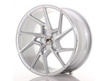 JR-Wheels JR33 Wheels Machined Silver 19 Inch 9.5J ET20-45 5H Blank-67269
