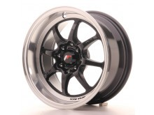 JR-Wheels TFII Wheels Gloss Black 15 Inch 7.5J ET10 4x100/114.3-47161-1