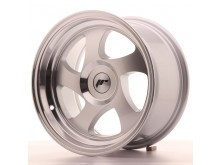 JR-Wheels JR15 Wheels Silver Machined 15 Inch 8J ET20 Blank-60148